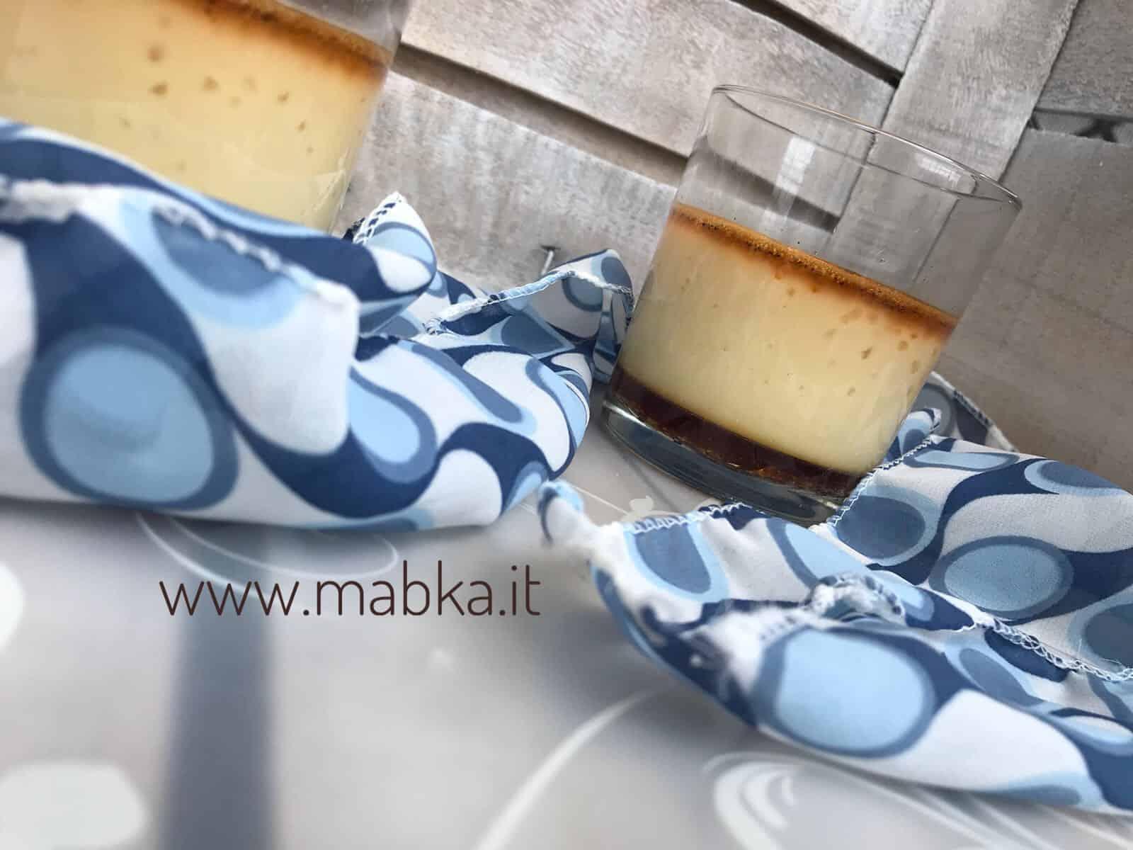Cream caramel senza lattosio