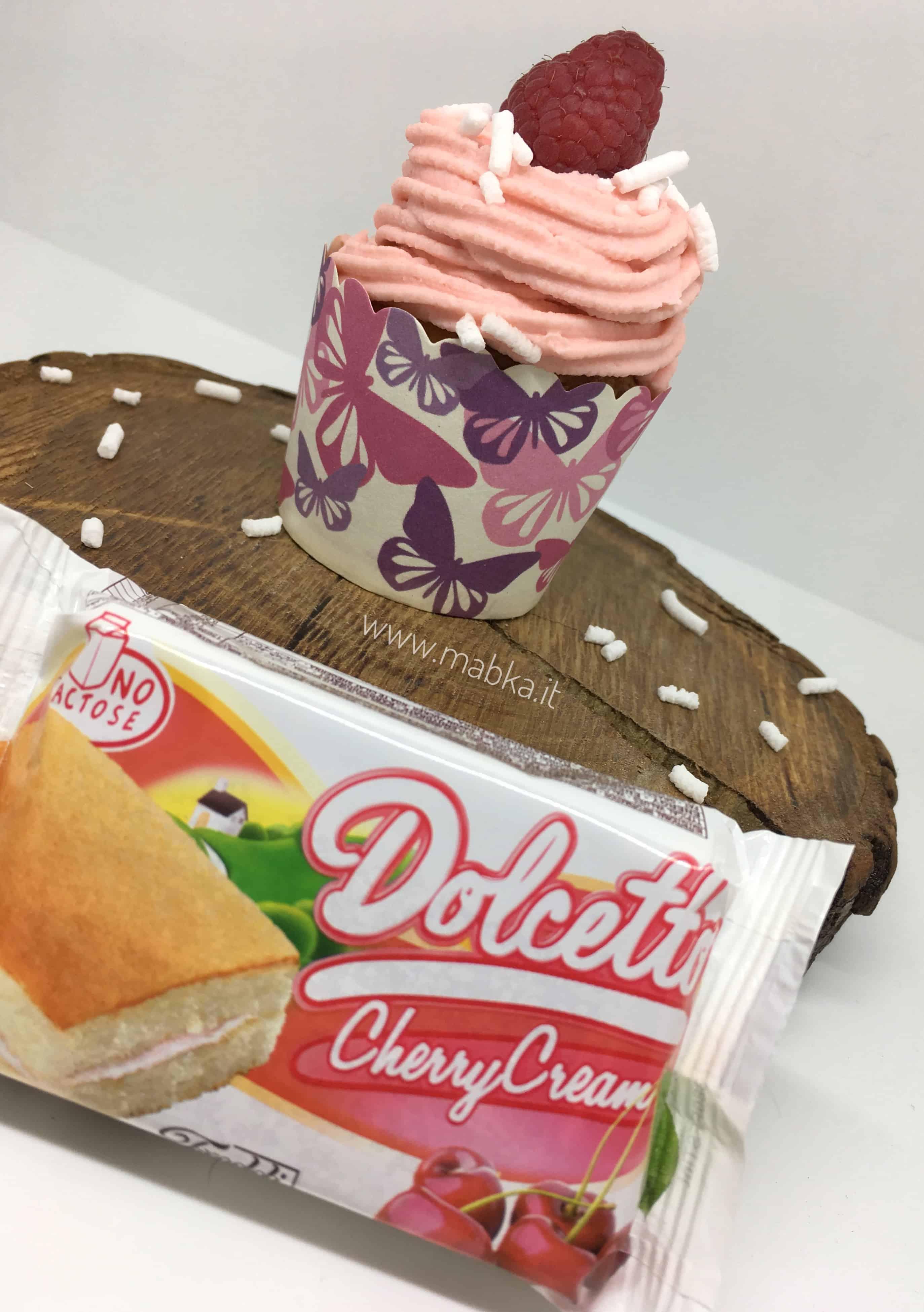 Cupcake senza lattosio, dolciaria freddi