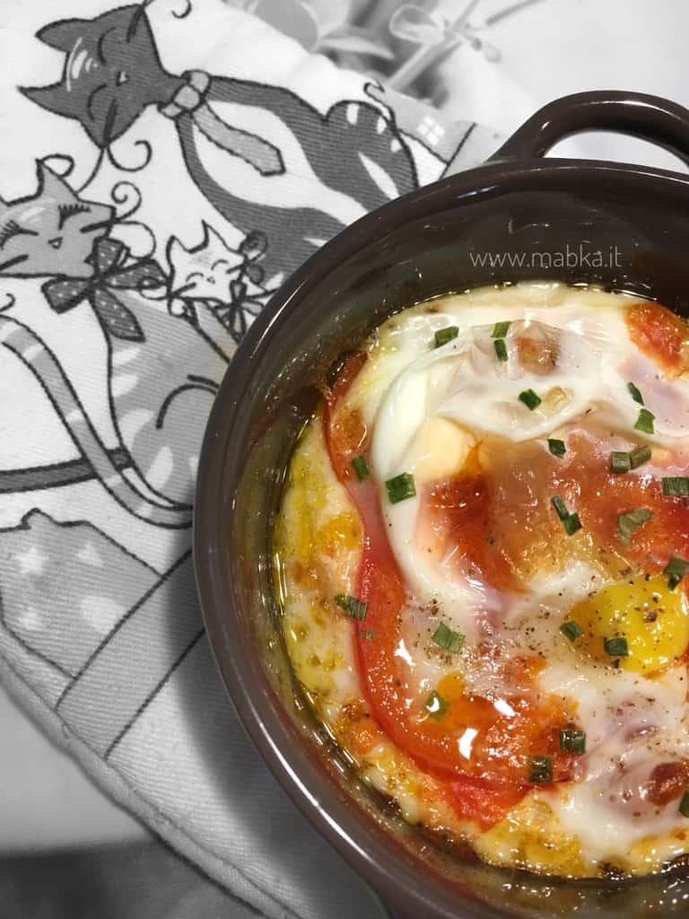 Uova al sugo senza lattosio, senza latticini, senza glutine
