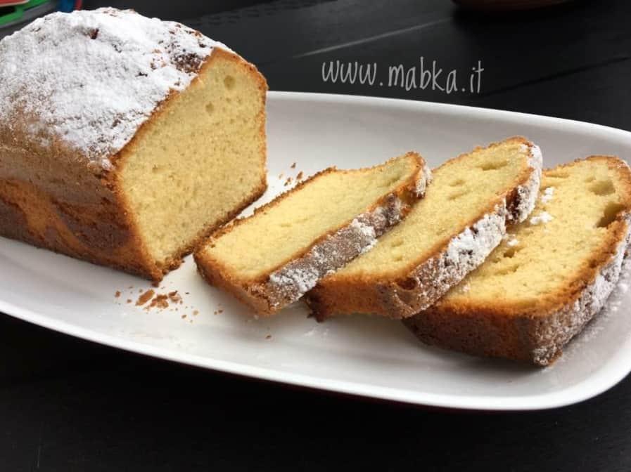 Plumcake senza lattosio di Massari