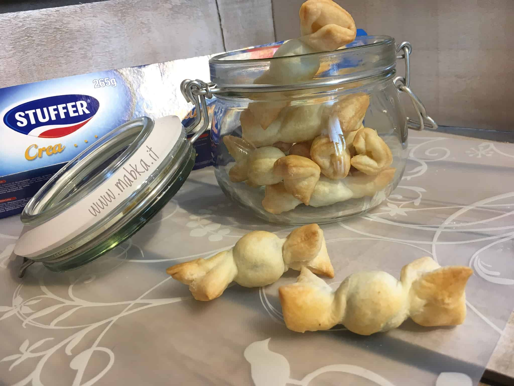 Caramelle alle olive senza lattosio