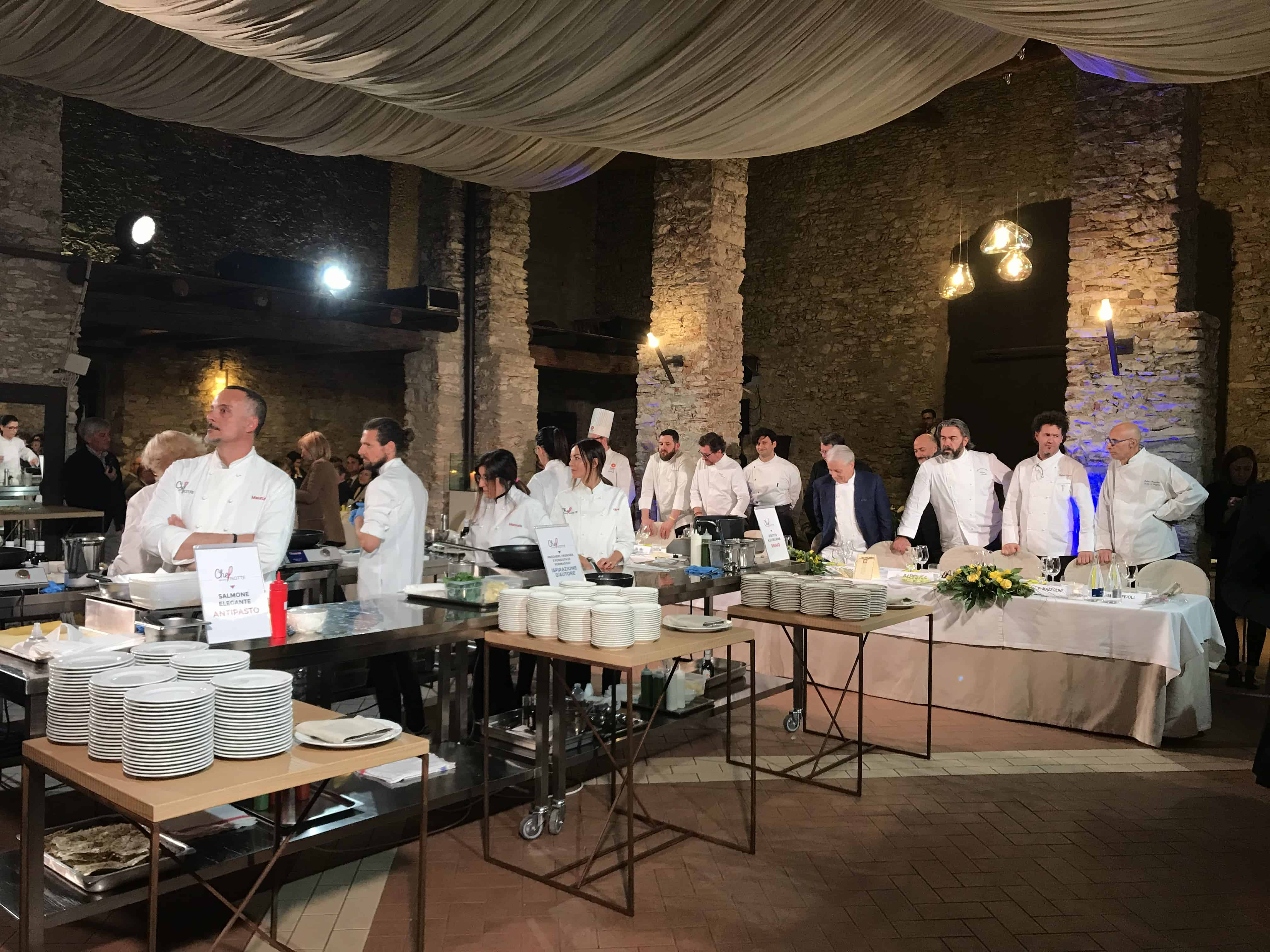 La giuria di chef per una notte