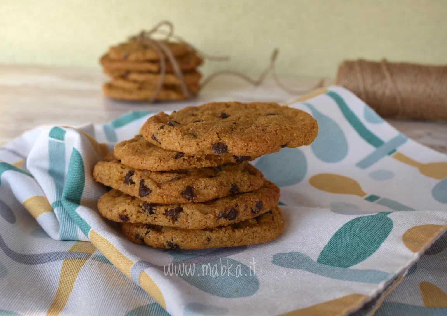 biscotti al burro di arachidi, senza lattosio, senza latticini, senza farina