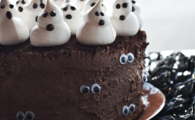 torta cioccolato e castagne